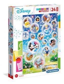 Puzzle 24 pezzi maxi Disney Classic Clementoni su ARSLUDICA.com