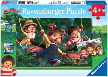 Puzzle 2x24 Pezzi Ravensburger Monchichi