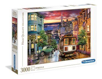Puzzle Città 3000 pezzi Clementoni San Francisco