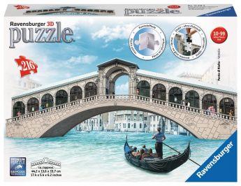 Puzzle 3D Ponte di Rialto Gioco (Ravensburger 3D Puzzle)