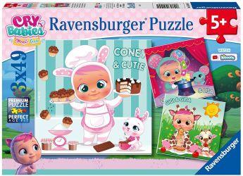 Puzzle 3x49 Pezzi Ravensburger Cry Babies