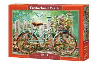Puzzle 500 pezzi Castorland Beautiful Ride | Puzzle Fiori