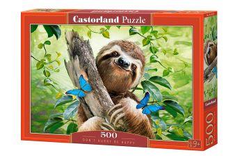 Puzzle 500 pezzi Don't Hurry Be Happy Castorland su arsludica.com