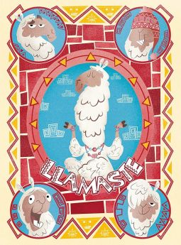 Puzzle Fantasy 500 pezzi Clementoni Fantastic Animals Llama