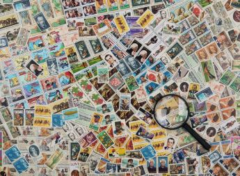 Puzzle Composizioni 500 pezzi Ravensburger Francobolli