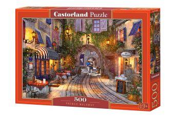 Puzzle 500 pezzi French Walkway Castorland su arsludica.com
