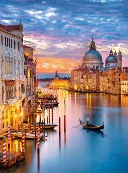 Puzzle Città 500 pezzi Clementoni Lighting Venice