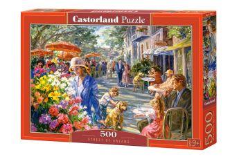 Puzzle 500 pezzi Street of Dreams Castorland su arsludica.com