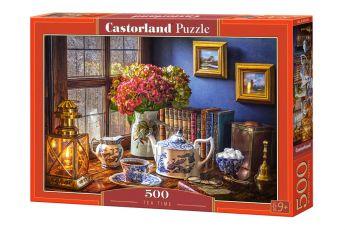 Puzzle 500 pezzi Tea Time Castorland su arsludica.com