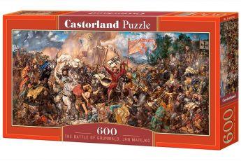 Puzzle 600 pezzi The Battle of Grunwald, Jan Matejko Castorland su arsludica.com