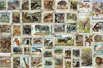 Puzzle Animali 3000 pezzi Ravensburger Francobolli degli animali