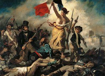 Puzzle Arte 1000 pezzi Clementoni Delacroix: Liberty Leading the People su arsludica.com