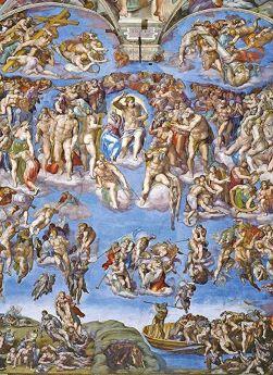 Puzzle Arte 1000 Pezzi Clementoni Michelangelo Giudizio Universale