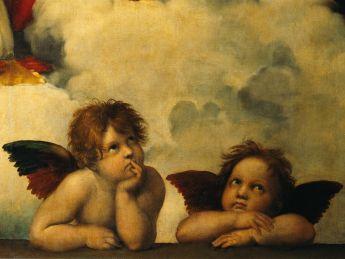 Puzzle Arte 1000 pezzi Ravensburger Raffaello Sanzio Cherubini