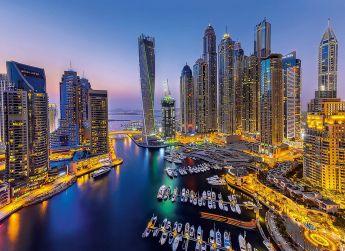 Puzzle Città 1000 pezzi Clementoni Dubai