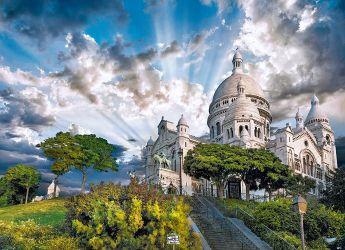 Puzzle Città 1000 pezzi Clementoni Montmartre
