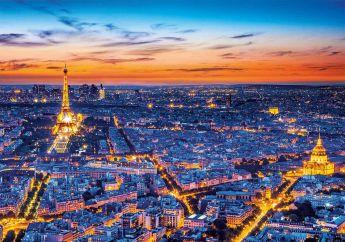 Puzzle Città 1500 pezzi Clementoni Paris View