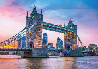 Puzzle Città 1500 pezzi Clementoni Tower Bridge Sunset