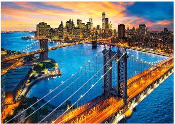 Puzzle Città 3000 pezzi Clementoni New York