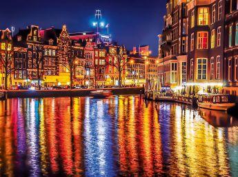 Puzzle Città 500 pezzi Clementoni Amsterdam