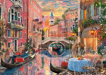 Puzzle Città 6000 pezzi Clementoni Venice Evening Sunset