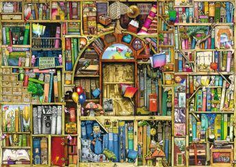 Puzzle Composizioni 1000 pezzi Ravensburger Biblioteca Bizzarra 2