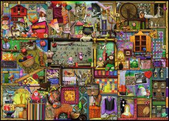 Puzzle Composizioni 1000 pezzi Ravensburger L'Armadio Artigianale