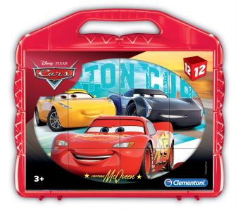 Puzzle Cubi Cars 12 Pezzi (Puzzle Bambini Clementoni) su ARSLUDICA.com