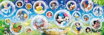 Puzzle Disney Panorama 1000 pezzi Clementoni Disney Classic