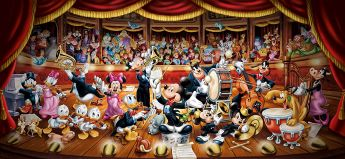 Puzzle Disney 13200 pezzi Clementoni Orchestra