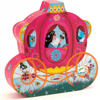 Puzzle Elise's Carriage 54 pezzi (Puzzle Djeco)