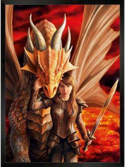Puzzle Fantasy 1000 pezzi Clementoni Anne Stokes Inner Strength