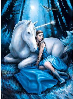 Puzzle Fantasy 1000 pezzi Clementoni Blue Moon