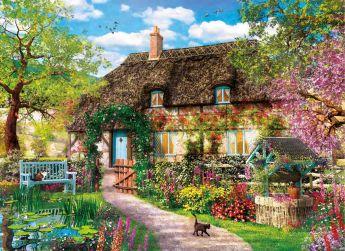 Puzzle Fantasy 1000 pezzi Clementoni The Old Cottage