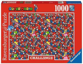 Puzzle Fantasy 1000 Pezzi Ravensburger Challenge Super Mario confezione