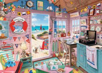Puzzle Fantasy 1000 Pezzi Ravensburger La Casa al Mare