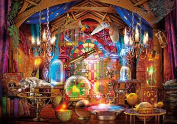 Puzzle Fantasy 1500 pezzi Clementoni Wizard Workshop su arsludica.com