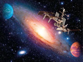 Puzzle Fantasy 500 pezzi Clementoni International Space Station