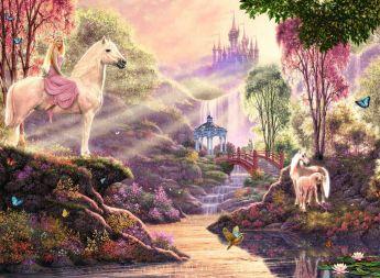 Puzzle Fantasy 500 pezzi Ravensburger La Magia del Fiume