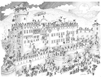 Puzzle Formiche 1000 pezzi Castello (Puzzle Fabio Vettori) su arsludica.com