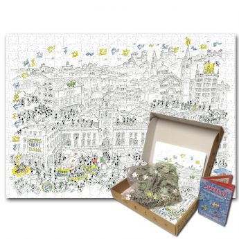 Puzzle Formiche 1000 pezzi Parma (Puzzle Fabio Vettori) su arsludica.com