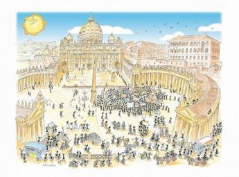 Puzzle Formiche 1000 pezzi Piazza San Pietro (Puzzle Fabio Vettori) su arsludica.com