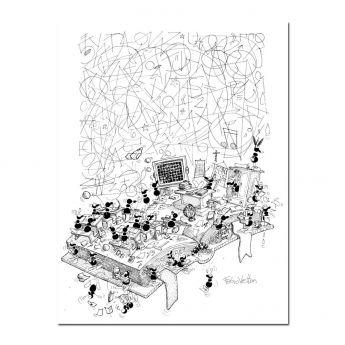 Puzzle Formiche 500 pezzi Scuola (Puzzle Fabio Vettori) su arsludica.com