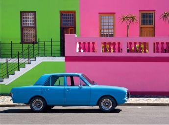 Puzzle Fotografia 500 pezzi Clementoni The Blue Car