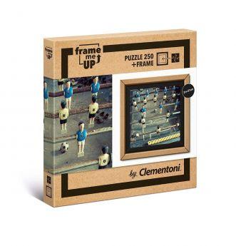 Puzzle FRAME ME UP 250 pezzi Foosball Clementoni su ARSLUDICA.com
