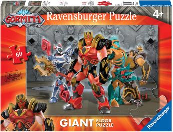 Puzzle Giant Floor 60 Pezzi Ravensburger Gormiti