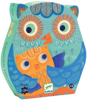 PUZZLE HELLO OWL | Puzzle Djeco