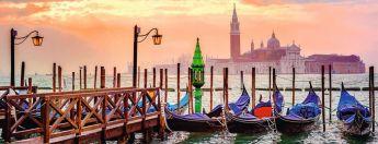 Puzzle Città 1000 pezzi Ravensburger Gondole a Venezia