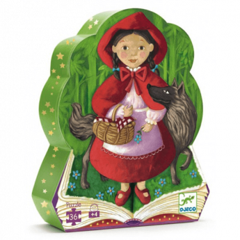 Puzzle Little Red Riding Hood 36 pezzi (Puzzle Djeco)