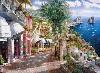 Puzzle Mare 1000 pezzi Clementoni Capri